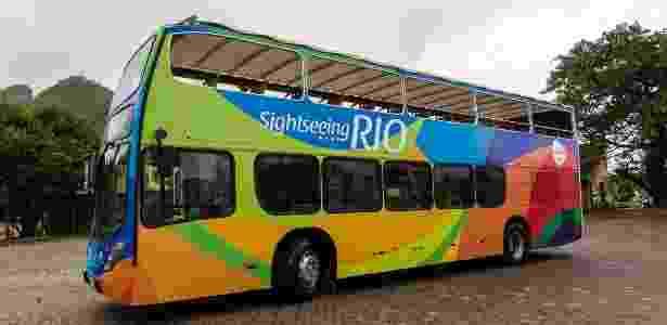 Ônibus do Sightseeing Rio - Arthur Moura/Divulgação