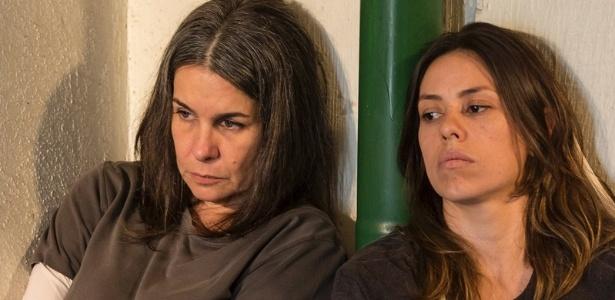 """Angela Figueiredo e Fernanda Cunha na peça """"Noites Sem Fim"""" - Divulgação"""