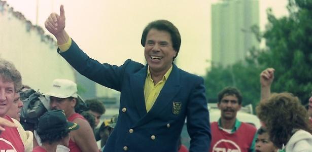 Silvio Santos desfilou na Parada das Crianças do SBT, em 1987 - Divulgação/SBT