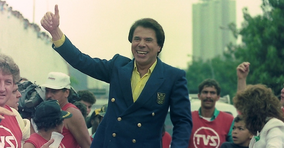 Silvio Santos na Parada SBT de 1987