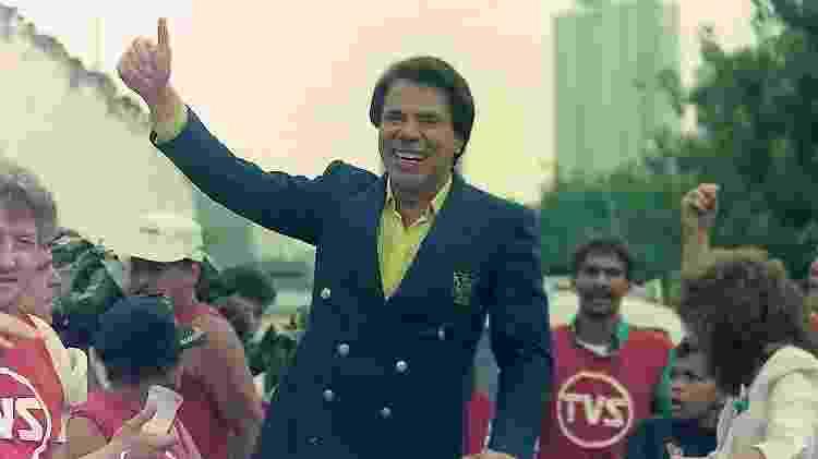 Silvio Santos na Parada SBT de 1987 - Divulgação/SBT - Divulgação/SBT