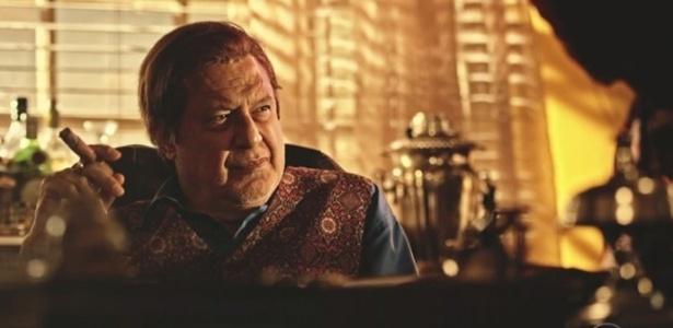 """Afrânio (Antonio Fagundes) fica indignado com o testamento da mãe em """"Velho Chico"""" - Reprodução/GShow"""