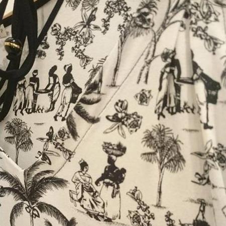 Estampa da Maria Filó causa polêmica; marca afirma ter se inspirado nas obras de Debret - Reprodução/Facebook