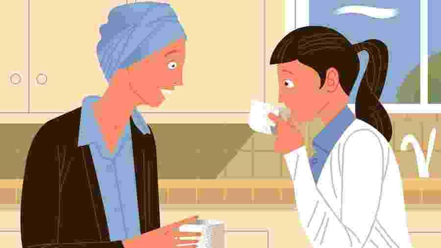 Fale menos e ouça mais: estar disposto a ouvir pessoa com câncer ajuda mais do que oferecer falso otimismo - Paul Rogers/The New York Times