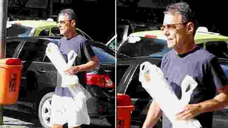 Chico Buarque compra baguetes na zona sul do Rio - Reprodução - Reprodução