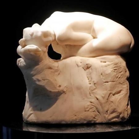 Escultura em mármore de Rodin - Charles Platiau/Reuters