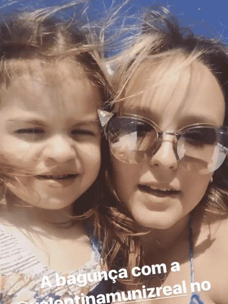 Valentina Muniz e Larissa Manoela - Reprodução/Instagram - Reprodução/Instagram