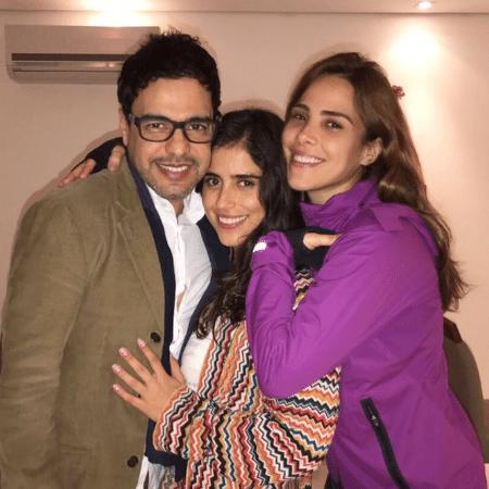Zezé Di Camargo com as filhas, Camila e Wanessa - Reprodução/Instagram/wanessa