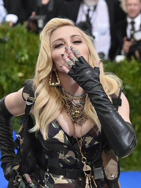 Madonna no Baile do MET - Getty Images