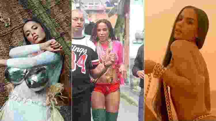 Clipes de Anitta - Reprodução/YouTube/AgNews - Reprodução/YouTube/AgNews