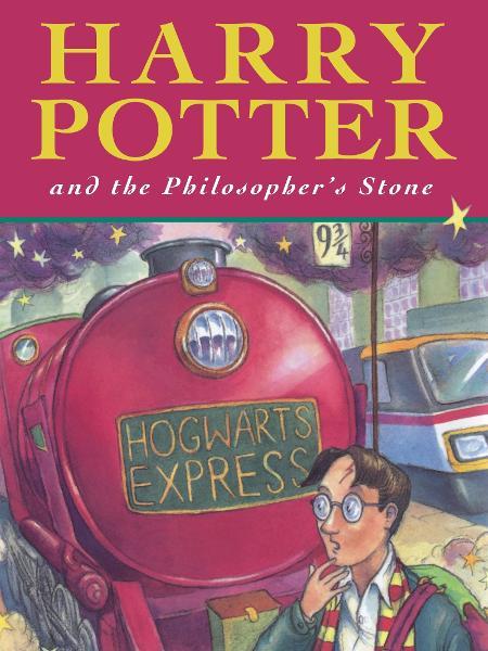 """Primeira edição do livro """"Harry Potter e a Pedra Filosofal"""" - Reprodução"""