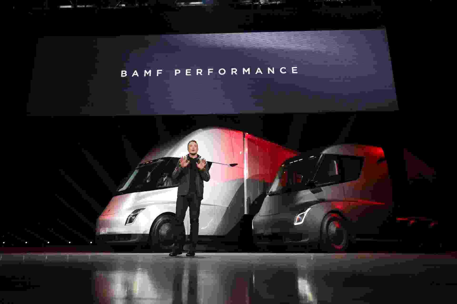 Tesla Semitruck caminhão - Divulgação