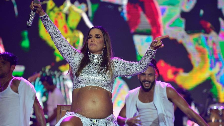 Grávida de gêmeas, Ivete teve que dizer não para o Carnaval 2018 - André Muzell/Brazil News
