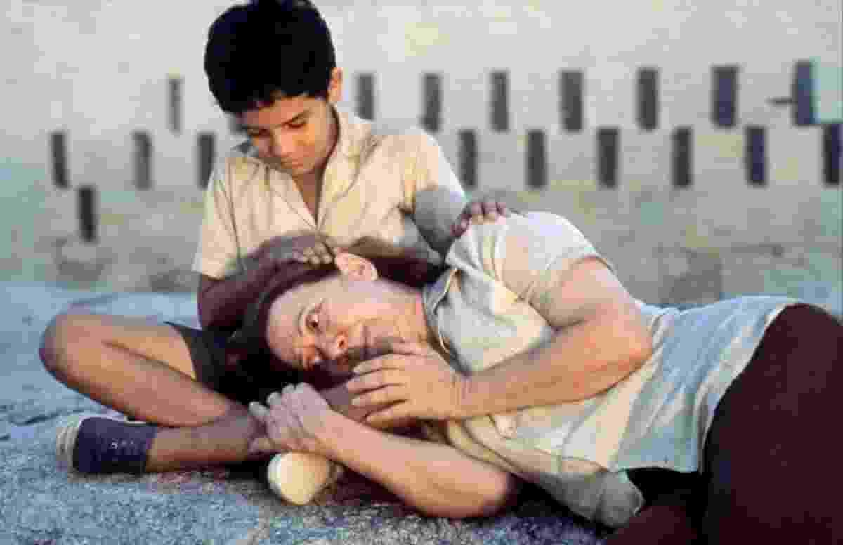 """Fernanda Montenegro e Vinícius de Oliveira em cena no filme """"Central do Brasil"""" (1998) - Divulgação"""