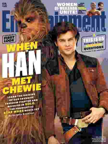 Han 4 - Reprodução/Entertainment Weekly - Reprodução/Entertainment Weekly