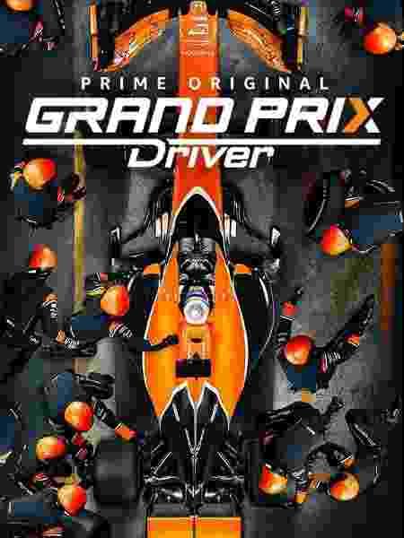 """Cartaz da série """"Grand Prix Driver"""" - Divulgação - Divulgação"""