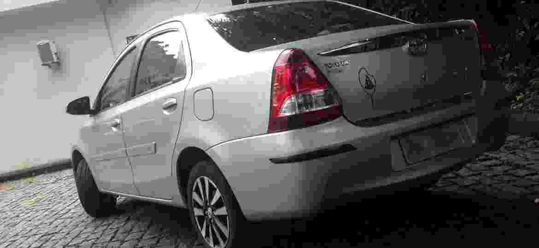 Toyota Etios Sedan 1.5 Platinum do mineiro José Eduardo Ernesto Pinheiro.