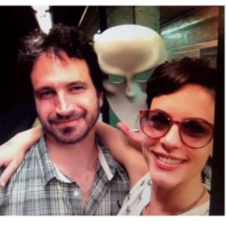 Caco Ciocler e Luisa Micheletti - Reprodução/Instagram
