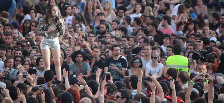 A banda Haim se apresenta no primeiro dia do Rock in Rio Lisboa 2018 - Felipe Branco Cruz/UOL