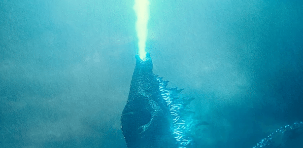 "Primeira cena de Godzilla em ""Godzilla: King of Monsters"""
