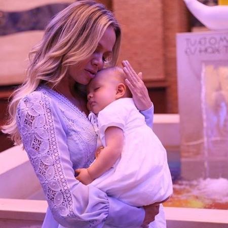 Eliana e a filha Manuela - Reprodução/Instagram