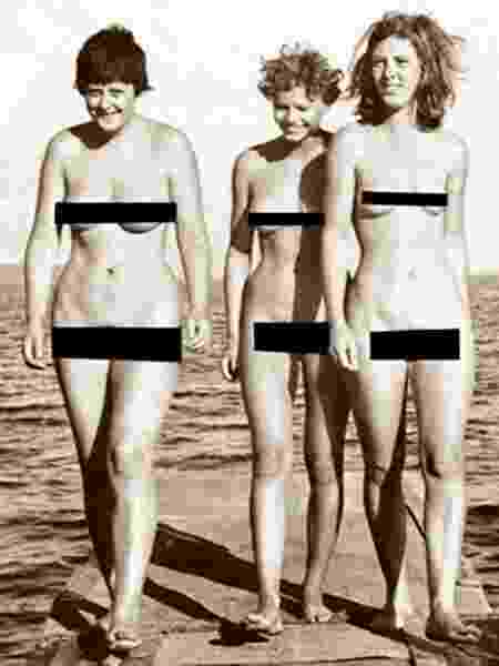 """Angela Merkel também é adepta das """"nudes"""" - Reprodução"""