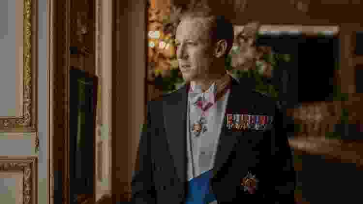 'The Crown': Tobias Menzies como príncipe Philip - Divulgação - Divulgação