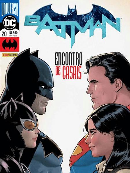 """Capa da edição 20 de """"Batman"""" - Reprodução"""