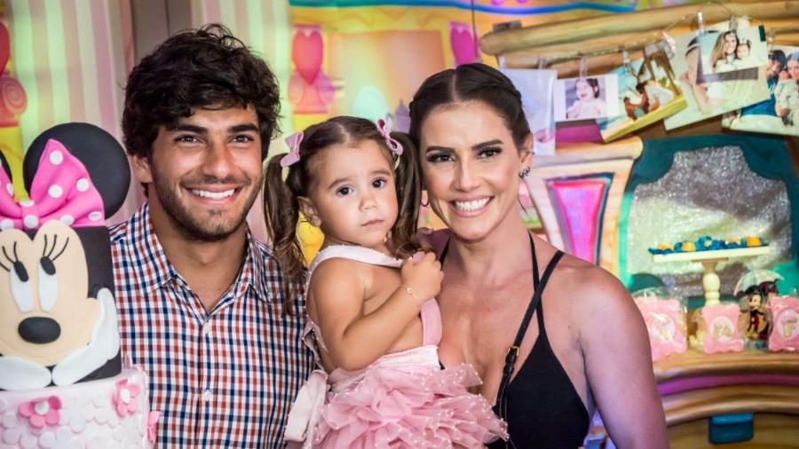 Deborah Secco e Hugo Moura com a filha, Maria Flor - Divulgação/Luiz Alberto Medeiros