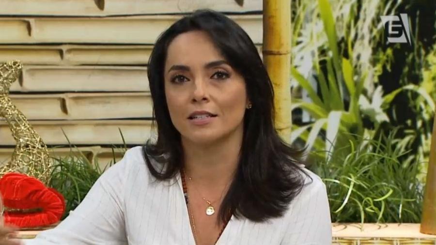 Izabella Camargo na Gazeta - Reprodução/Gazeta