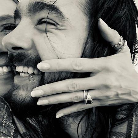 Heidi Klum e Tom Kaulitz - Reprodução/Instagram