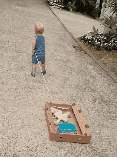 Enrico, filho de Karina Bacchi - Reprodução/Instagram