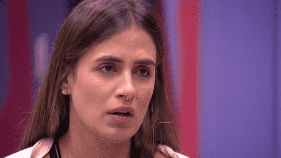 Carolina conversa sobre próximo paredão - Reprodução/GloboPlay