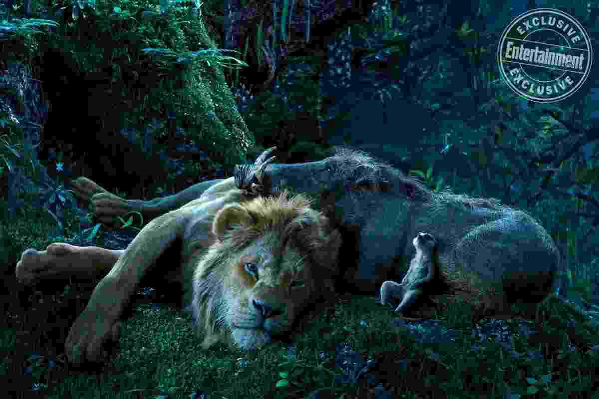 """Novas fotos de """"O Rei Leão"""" - Divulgação/EW"""
