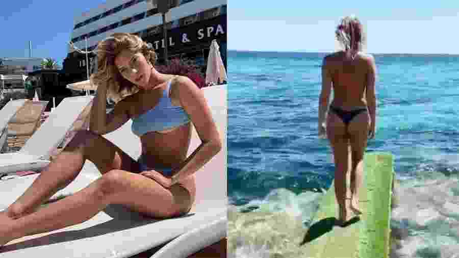 Isabella Santoni curte férias em Ibiza - Reprodução/Instagram