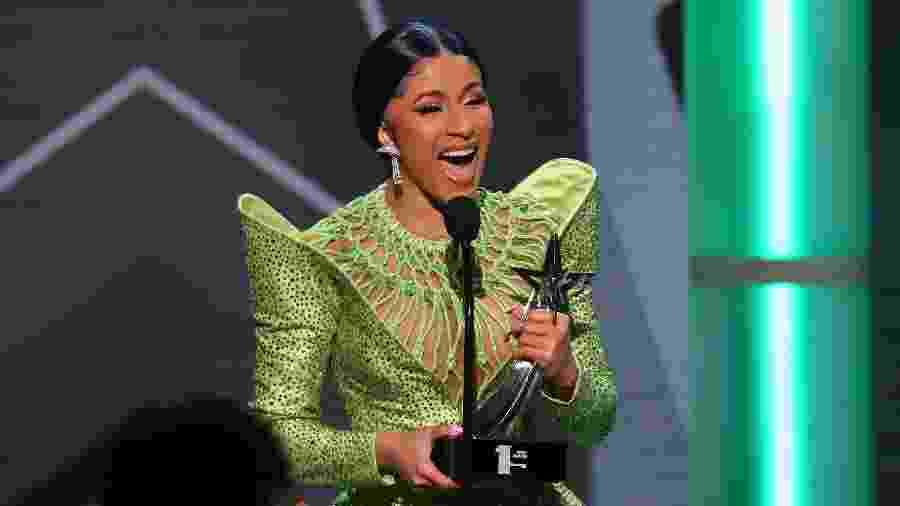 Cardi B no BET Awards - Jean-Baptiste Lacroix/AFP