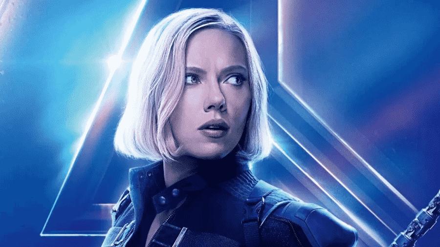 Scarlett Johansson como Viúva Negra em Vingadores: Ultimato - Reprodução