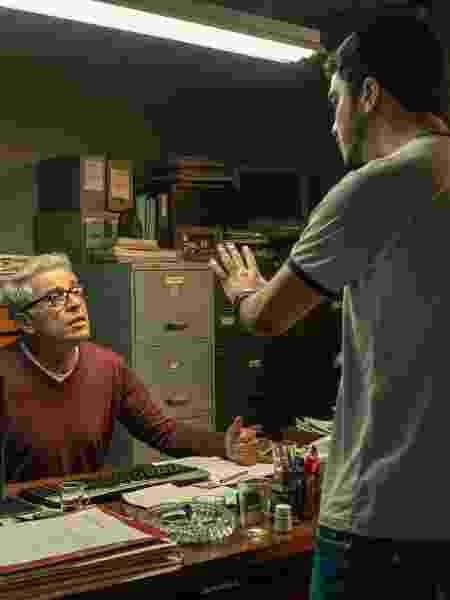Paulo Gorgulho e Leonardo Bittencourt  - Maurício Fidalgo TV Globo - Maurício Fidalgo TV Globo