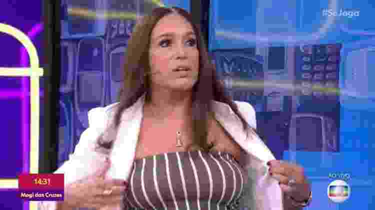 """""""Aquele médico é tão bom que o meu peito tá aqui até hoje""""  - Reprodução/Globo"""