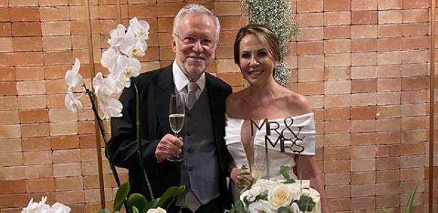 Sem dizer com quem | Aos 79 anos , Alexandre Garcia anuncia que se casou