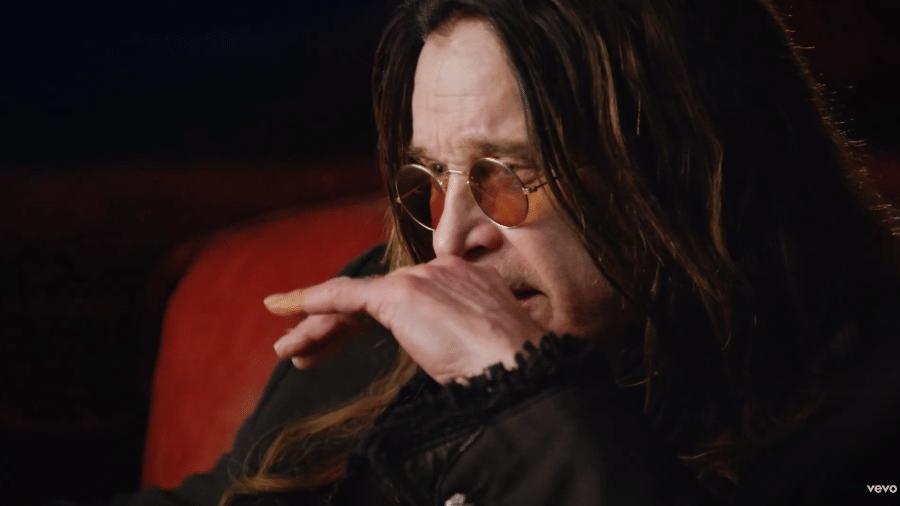 """Ozzy Osbourne no clipe de """"Ordinary Man"""" - Reprodução/YouTube"""