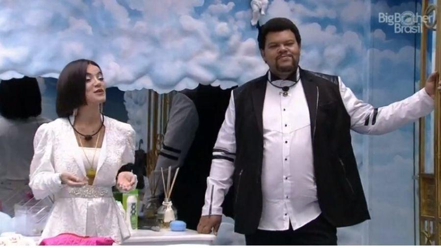 BBB: 20 Babu e Manu brincam de apresentadores de prêmio  - Reprodução/Globoplay