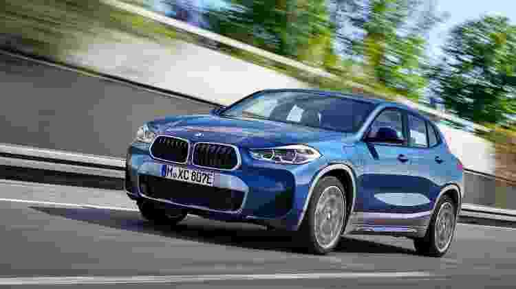 BMW X2 xDrive25e - Divulgação - Divulgação