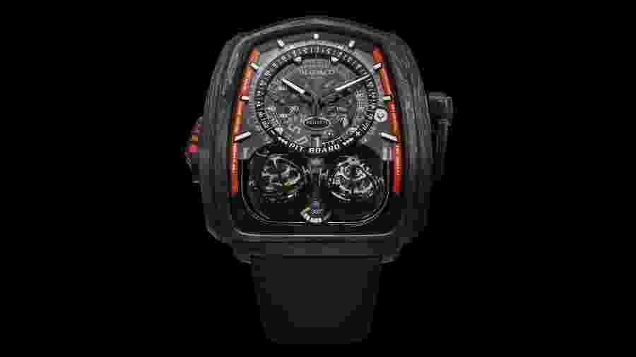 Relógio Twin Turbo Furious Bugatti 300+ da Jacob & Co - Divulgação