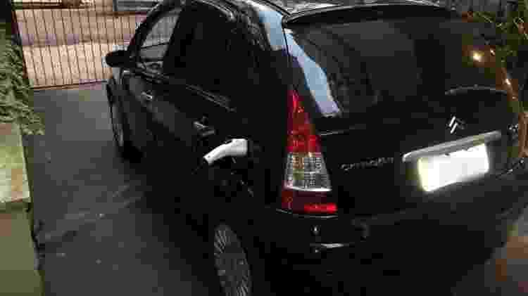 Citroën C3 elétrico porto alegre Julio Cesar Otero Boehl recarga - Arquivo pessoal - Arquivo pessoal