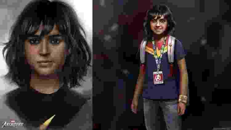 kamala Khan criança jogo Vingadores - Divulgação/Square Enix - Divulgação/Square Enix