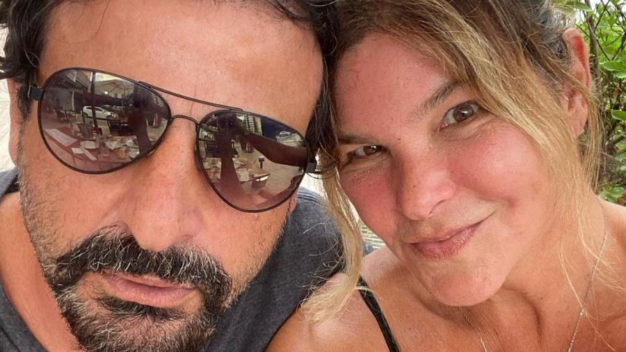 Cristiana Oliveira e Sergio Bianco - Reprodução/Instagram @oliveiracris10