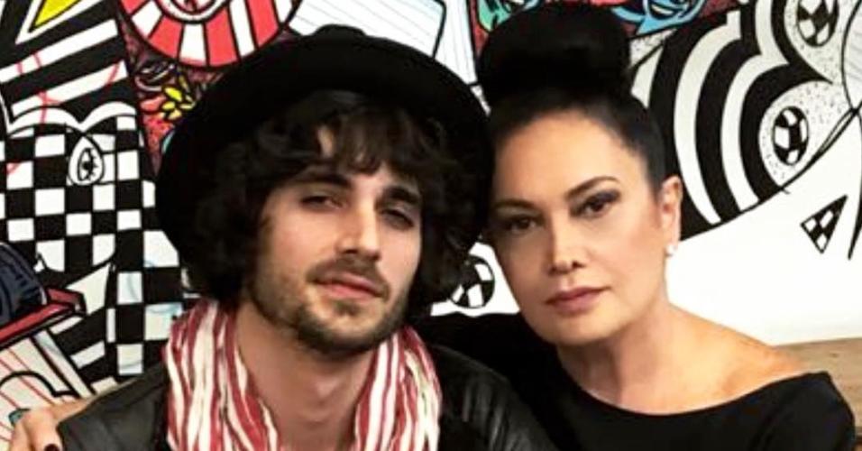 Fiuk e Cristina Kartalian
