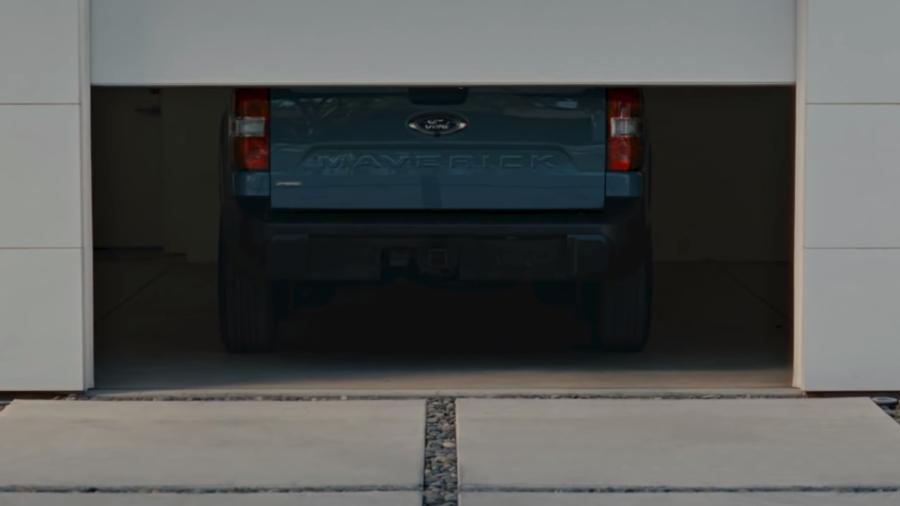Ford Maverick teaser - Reprodução