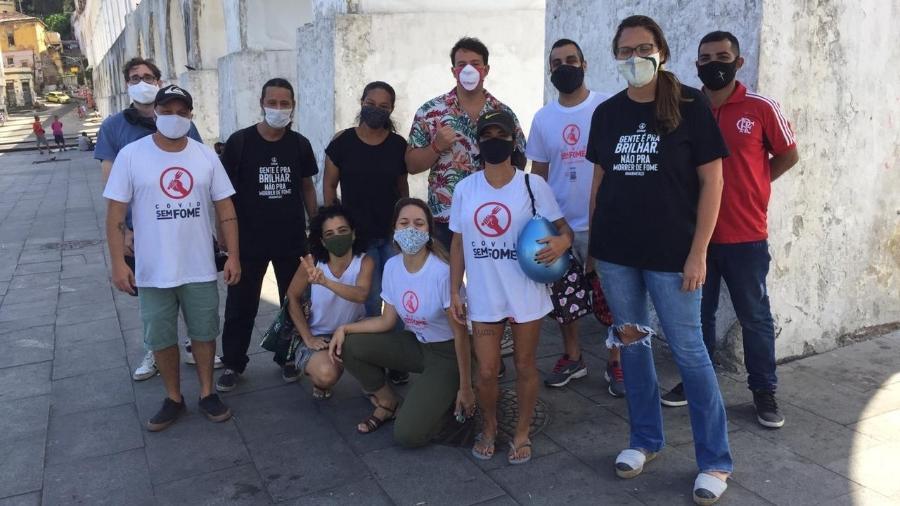 Ação conta com voluntários da área de logística, estagiários de gastronomia e chefs - Divulgação